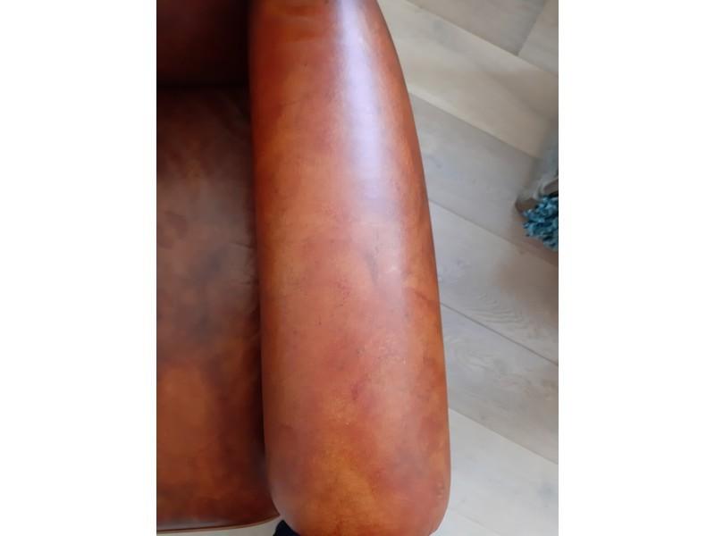 Leren Stoel Verven : Zelf je leren bank meubel of fauteuil verven meubelkliniek