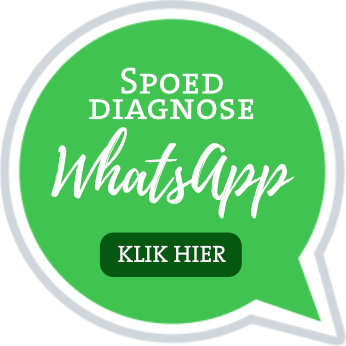 Spoed diagnose? WhatsApp ons